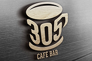 Identidad Visual de 305 Café Bar